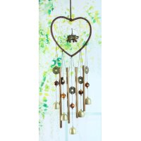 DC078 - Dream catcher metal pipe bell wind chime