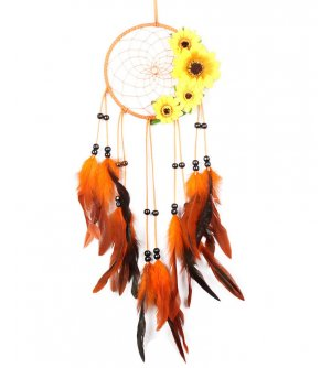 DC104 - Sun Flower Dreamcatcher