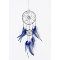 DC113 - Indian feather charm dream catcher