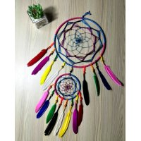 DCH003 - Handmade Dreamcatcher Ornament