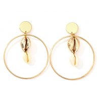 E1006 - Temperament natural shell earrings