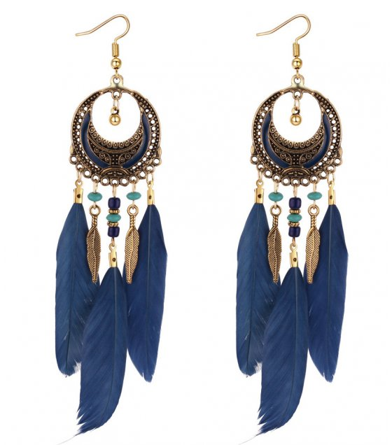 E1011 - Korean Father Tassel Earrings