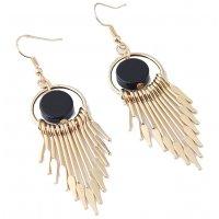 E1018 - Simple tassel temperament earrings