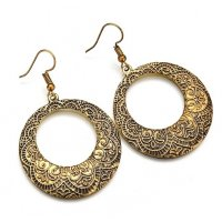 E1044 - Fashion Bohemian Vintage Bronze Alloy Earrings