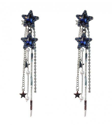 E1059 - Tassel crystal earrings