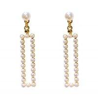 E1066 - Full pearl earrings