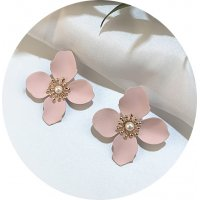 E1074 - Summer small fresh flower earrings