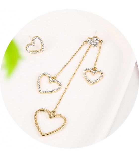 E1112 - Love bowknot earrings