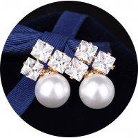 E1127 - Fashion Zircon Earrings