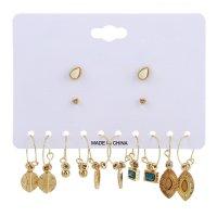 E1130 - Retro ethnic style Earring Set