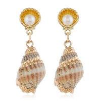 E1136 - Pearl shell earrings