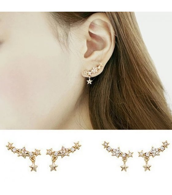 E1141 - Five-pointed star Earrings