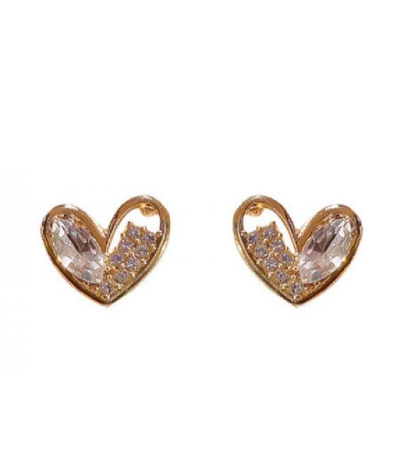E1143 - Flashing diamond earrings