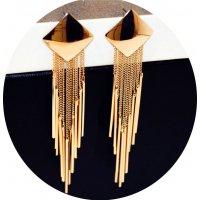 E1148 - Tassel long earrings