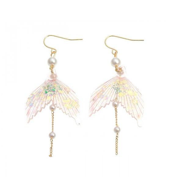 E1150 - Fishtail temperament earrings