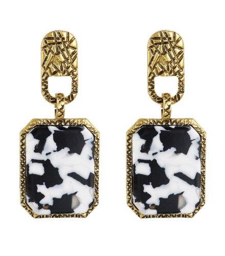 E1156 - Leopard Print Earrings
