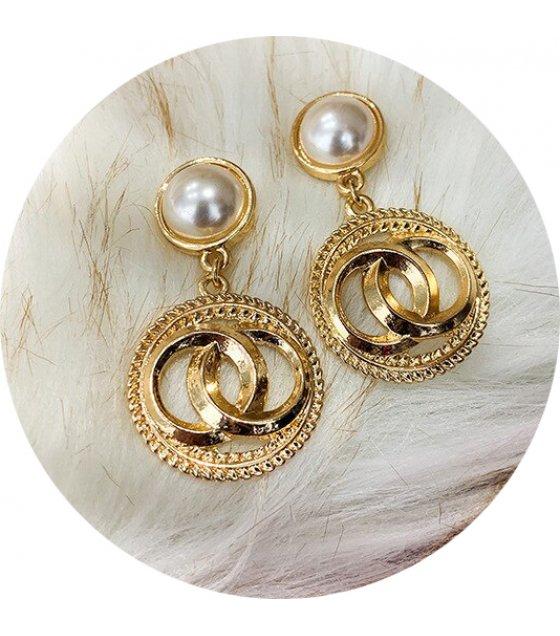 E1158 - Vintage Crystal Earrings