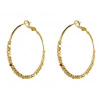 E1160 - Square hoop earrings