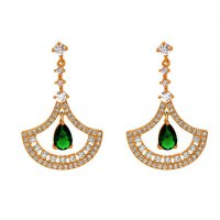 E1167 - Korean water drop Earrings