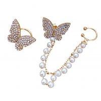 E1169 - Korean Fashion butterfly ear clip