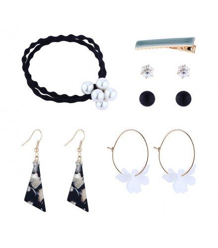 E1173 - Retro flower earring