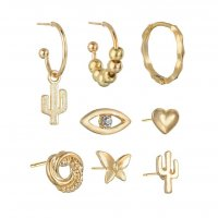 E1179 - Fashion gold-plated earrings