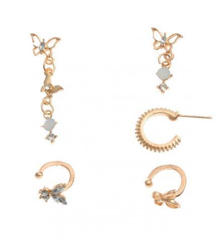 E1186 - Resin butterfly earrings