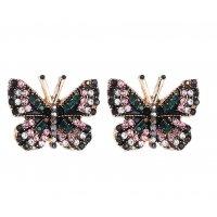 E1195 - Sweet butterfly earrings