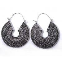 E1229 - Bohemian Retro Hollow Metal Earrings