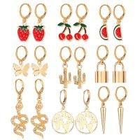 E1247 - Fashion Fruit earring Set
