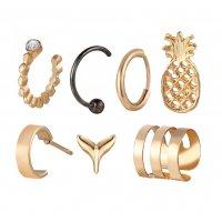 E1250 - 7 Piece Fruit Earring Set
