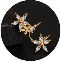 E1285 - Fashion wild flower ear clip