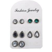 E1296 - Bohemian Gemstone Earrings