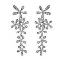 E1302 - Korean snowflake earrings