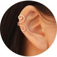 E1310 - Simple Alloy Geometric Earrings