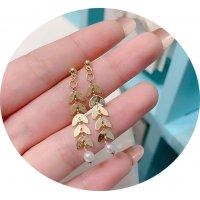 E1316 - Korean sense pearl earrings