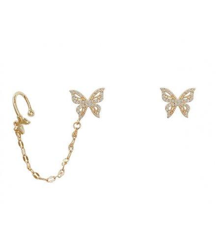 E1317 - Butterfly Stud Earrings