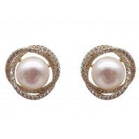 E1330 - Simple Pearl Earrings