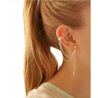 E415 - New Gold Designer Earring
