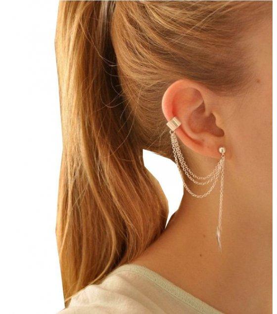 E415 - New Gold Designer Earring