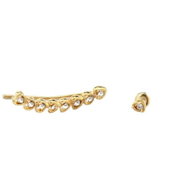 E418  - New Gold Designer Earring