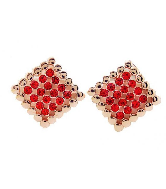 E432 - Red Gold Earring
