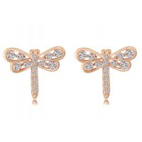 E677 - Colorful Elegant Small Butterfly Earring