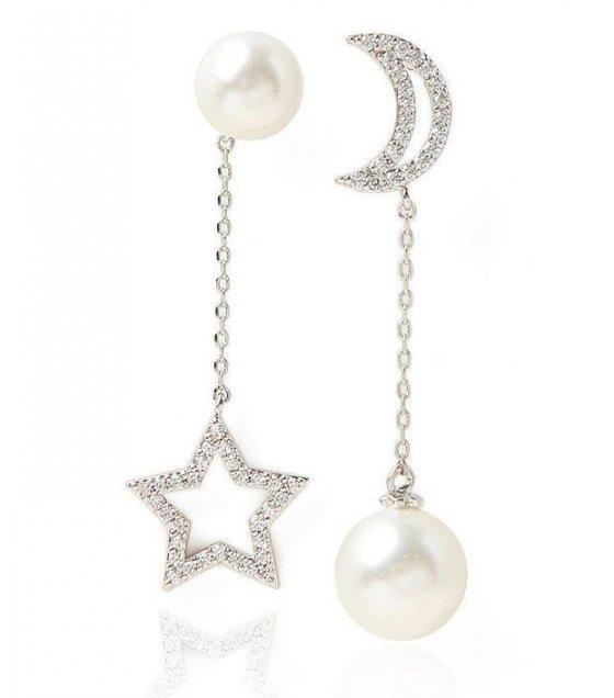 E746 - Silver Star Earrings