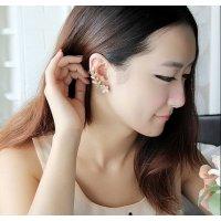 E751 - Opal Feather Earrings