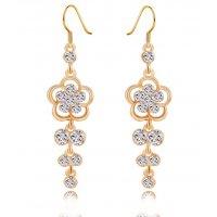E796 - Tassel long earrings