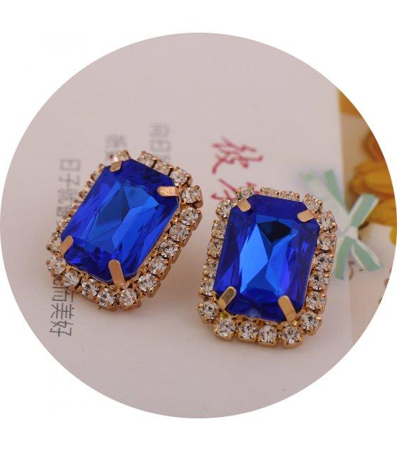 E827 - Chain Rhinestone Earrings