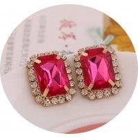 E828 - Chain rhinestone Earrings