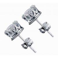 E841 - Crown Earrings