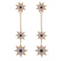 E861 - Snow Fringe Earrings